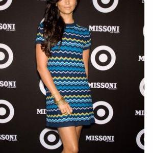 Missoni for Target knit mini dress Zig Zag